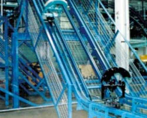 inverted power and free conveyor