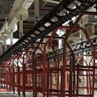 I-beam conveyor track