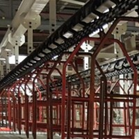I-beam conveyor track