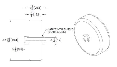 skate wheel dimensions