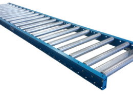 "1.9"" diameter roller 24"" wide gravity conveyor"