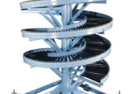 Gravity silo conveyor