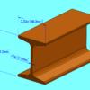 I-beam dimensions - S3