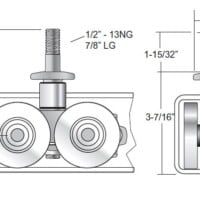 27829 4 Wheel Chain Attachment