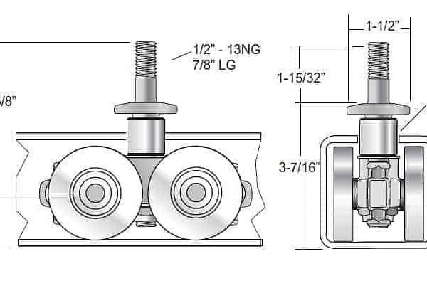 27829 4 Wheel Chain Attachment