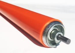Urethane conveyor roller cover