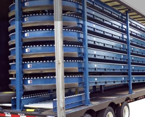Tire and Wheel Delivery Trailers