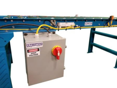 Power supply for 24V motorized conveyor rollers