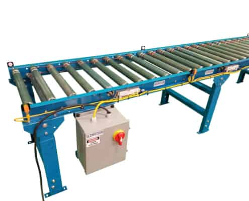 convert roller conveyor to motorized
