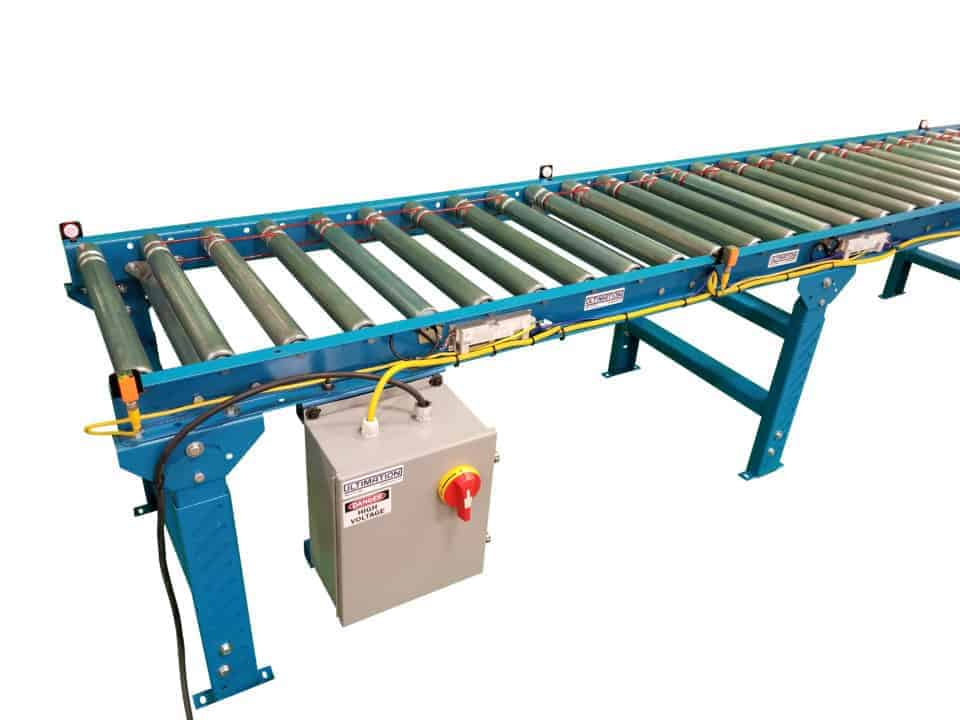 convert roller conveyor to motorized