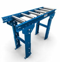 Conveyor Style Roller Stand