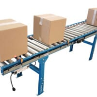 Powered Roller Conveyors - 24V Motorized Rollers