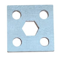 "Hex Mounting Bracket for 7/16"" Hex Axle"