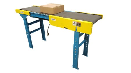 24V Belt Conveyor System - Roller Bed Style