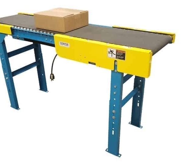 24V Belt Conveyor System - Roller Bed Style