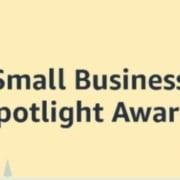 Amazon small business awards