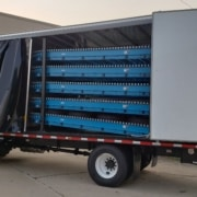 Automated tire delivery