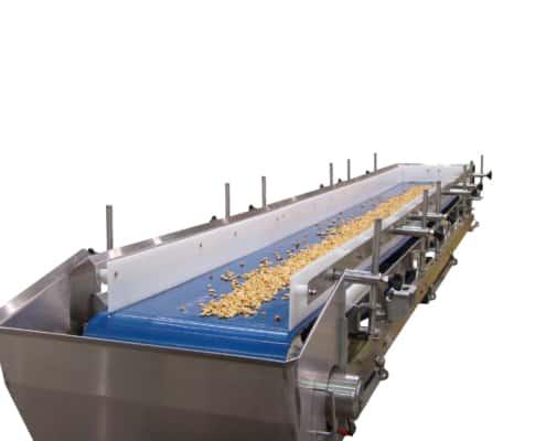 Stainless Steel Food Handling Belt Conveyor