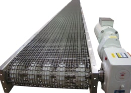 Food Grade Wire Mesh Belt Conveyor