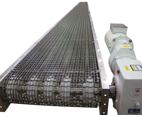 Food Grade Wire Mesh Belt Conveyor