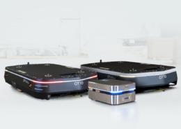Different size warehouse robots