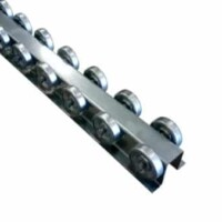 Flow Rail - Skate Wheels - Conveyor Rail