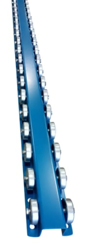 Conveyor Rails Flow Rail 10 Skate Wheel Conveyor T3p